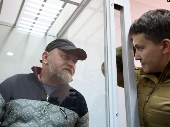 Надежду Савченко выпустили из-под стражи в зале суда - сестра