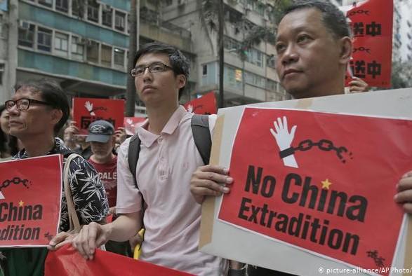 В Гонконге прошла крупнейшая за последние годы акция протеста