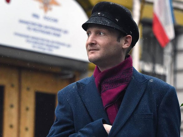 Сегодня из-под ареста вышел журналист Гайворонский