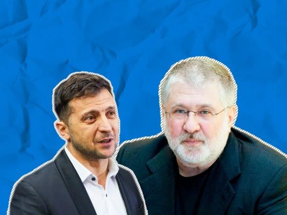 """Зеленский заявил, что готов """"отсечь"""" Коломойского от доступа к власти"""