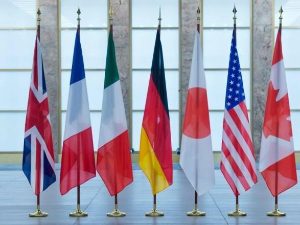 G7 призвала власти Украины продолжать реформы и борьбу с коррупцией