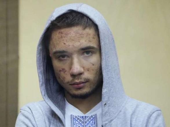 Отец подтвердил, что украинский политзаключенный Гриб прекратил голодовку