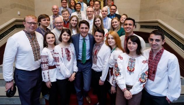 Джастин Трюдо поздравил с Всемирным днем вышиванки