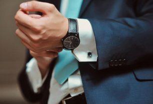 Как носить мужские часы