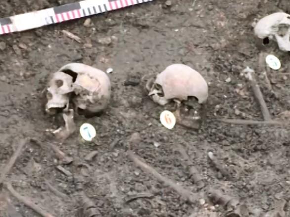 В Ровенской области нашли скелеты 19 репрессированных жертв НКВД