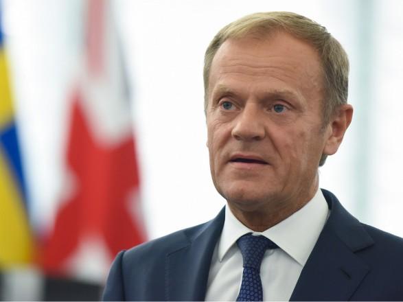Туск: надеемся, что Зеленский будет последователен в процессе евроинтеграции