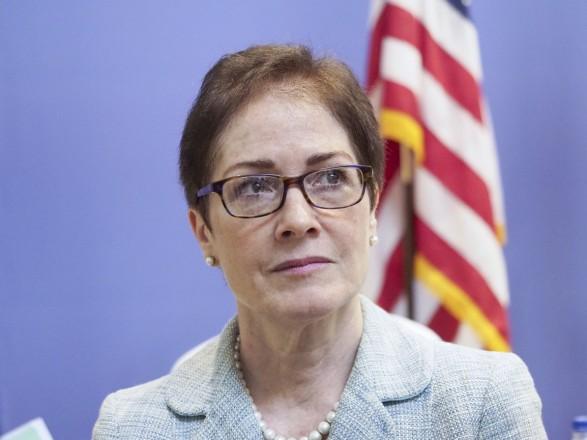 Мари Йованович завершает каденцию посолки США в Украине