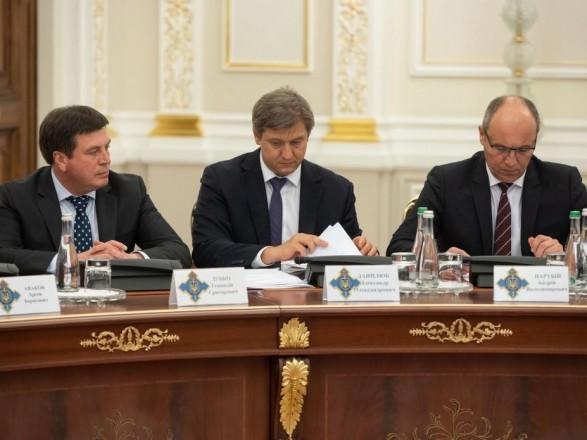 СНБО провел совещание в связи с ситуацией в Молдавии