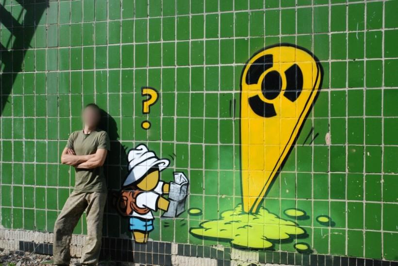 По следам сталкеров - в Чернобыль