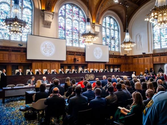 Украина сегодня представит позицию в суде ООН по иску против РФ