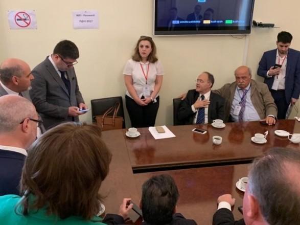 Представители российской делегации спешно покинули Грузию