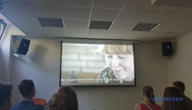 """В Варшаве показали фильм """"Невидимый батальон"""" об украинских женщинах на войне"""