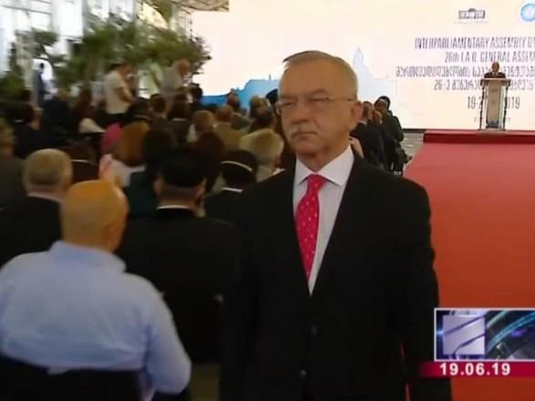 Посол Украины в Грузии покинул съезд межпарламентской ассамблеи в знак протеста