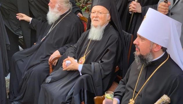 Епифаний в Стамбуле встретился с предстоятелем Элладской церкви
