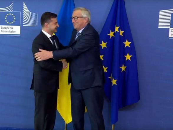 """Евротур"" Зеленского: Президент начал встречи с лидерами ЕС"