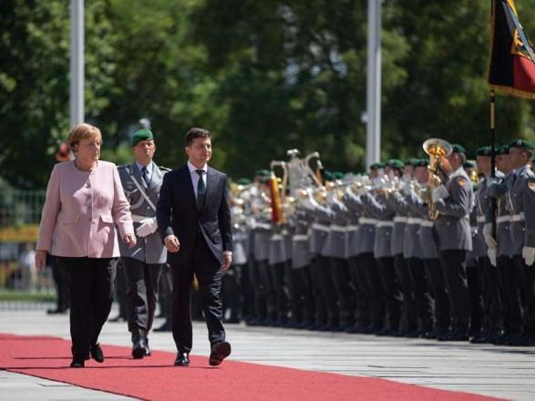 Зеленский резюмировал свой визит в ФРГ и встреча с Меркель