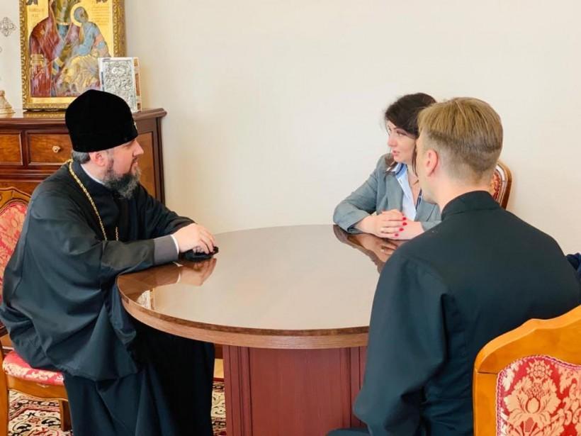 Епифаний предлагает Михайловский собор для встреч с ветеранами — Фриз