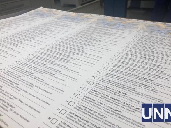 Внеочередные выборы: все УИК уже получили бюллетени