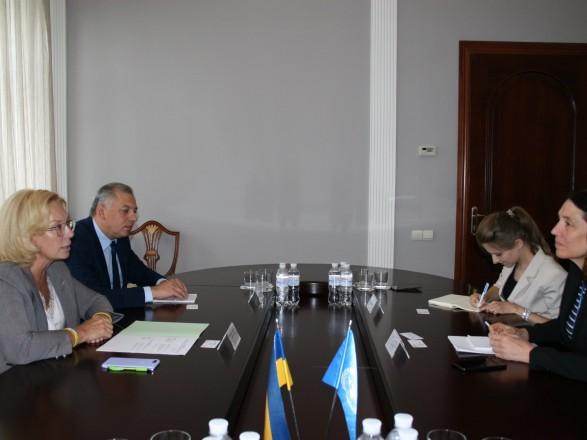 Денисова попросила помочь ООН в перемещении заключенных из ОРДЛО на территорию Украины.