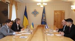 Секретарь СНБО обсудил двустороннее сотрудничество с послом Израиля