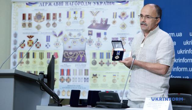 """Создателей наград отметили орденами """"За развитие Украины"""""""