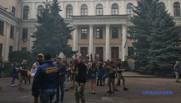 Нацкорпус под МОН требовал лишить Кивалова президентства в Одесской юракадемии