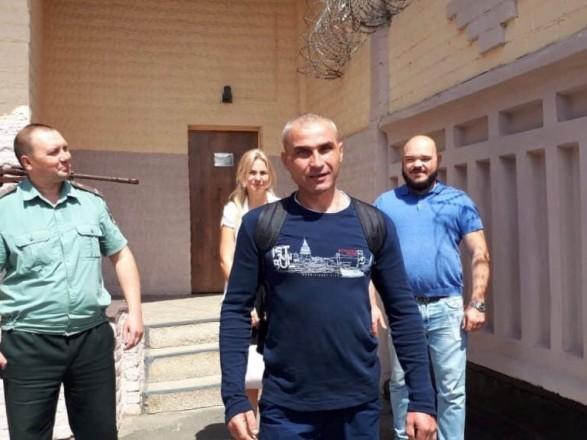 Помилованный политзаключенный Литвинов вышел на свободу