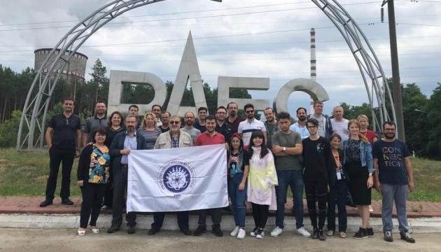Ядерщики из Турции посетили Чернобыль и Ривненскую АЭС
