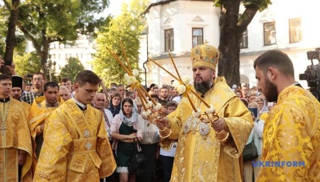 В Софии Киевской — литургия ко Дню крещения Руси-Украины