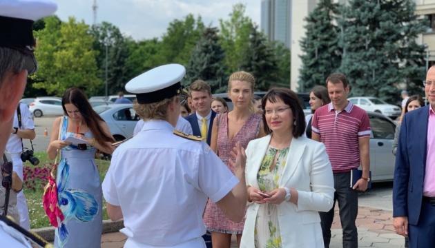 И.о. председателя Одесской ОГА встретилась с делегацией НАТО