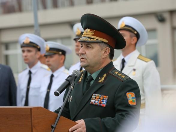 Полторак сегодня обсудит сотрудничество в сфере обороны с Канадой