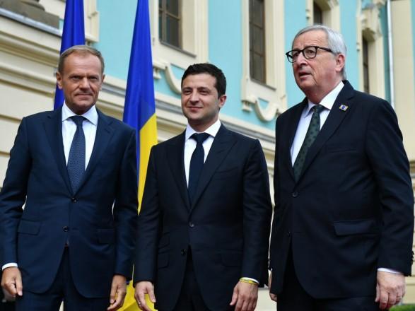 По результатам саммита Украина - ЕС подписано соглашение о финансовой поддержке
