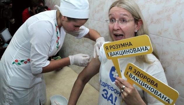 В Украине стартует кампания по вакцинации взрослых от столбняка и дифтерии