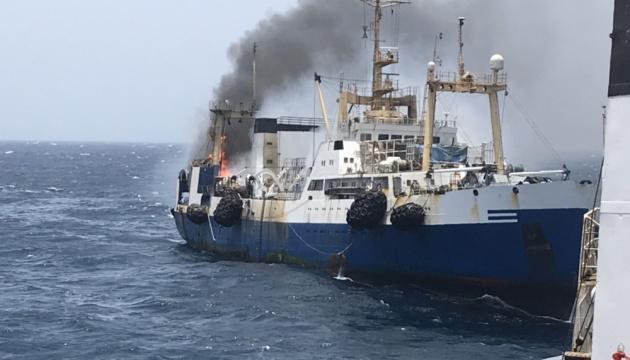Двое украинцев погибли в катастрофе траулера у берегов Африки