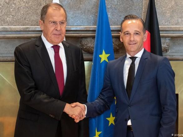 Главы МИД РФ и Германии обсудили вопрос Украины
