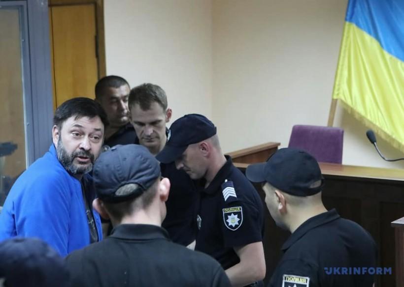 Суд продлил арест Вышинского до 19 сентября