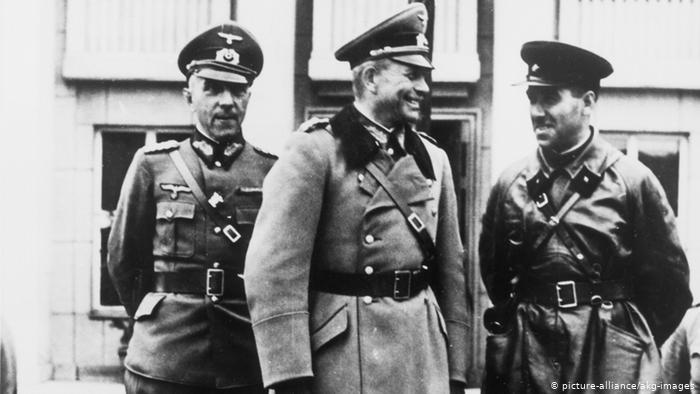 Гудериан и Кривошеин в Бресте. 1939