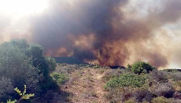 В МИД предупреждают об опасности поездок в Грецию из-за пожара