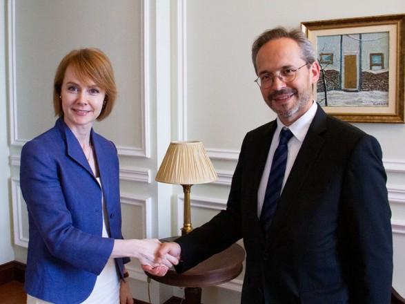 Новый посол Австрии начал работу в Украине