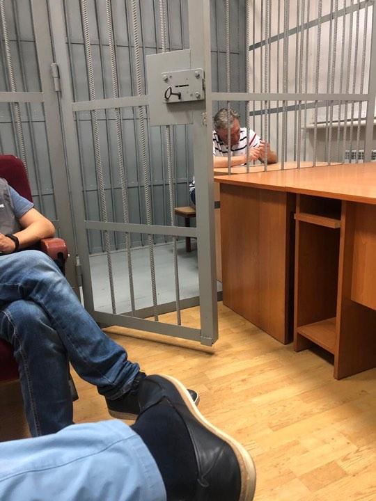 Правоохранители завершили обыск в Грымчака
