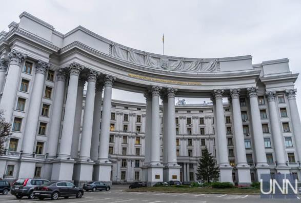 МИД Украины осудил РФ и оккупационных властей за задержание граждан Грузии