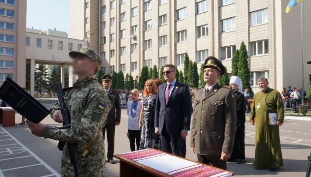 Баканов принял участие в церемонии принесения присяги курсантами Нацакадемии СБУ