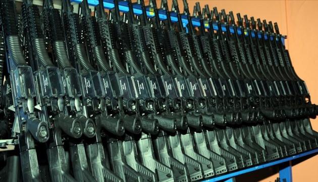 Украина получила из Турции 2 тысячи пистолетов-пулеметов MP-5
