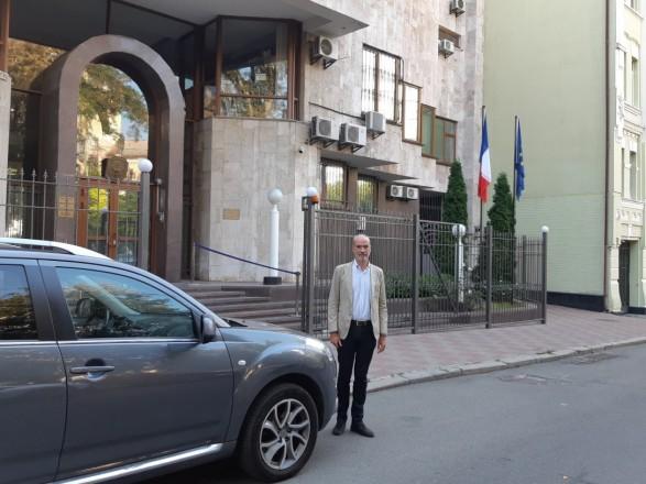 Новый посол Франции прибыл в Киев