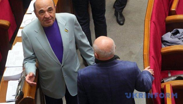 Рабинович отказался выступать в Нацсовете на украинском - в заседании перерыв