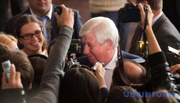 Шокин снова пытается через суд вернуться в кресло генпрокурора — СМИ