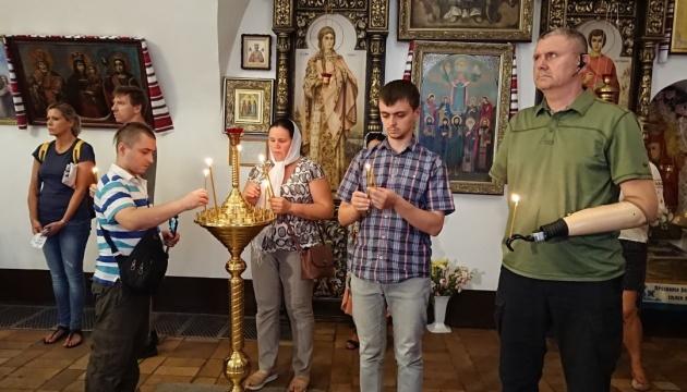 В Михайловском соборе отслужили панихиду по погибшим военным