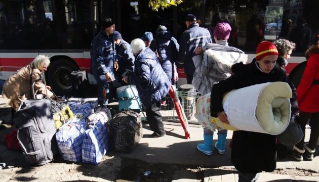 В Украине стало больше внутренних переселенцев
