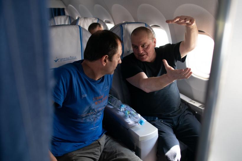 Как узники Кремля летели домой