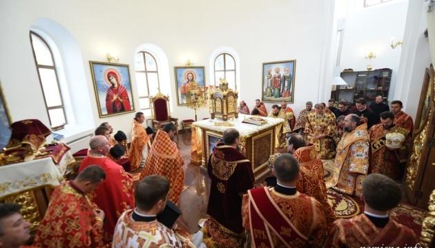 Епифаний освятил новопостроенный храм на Житомирщине